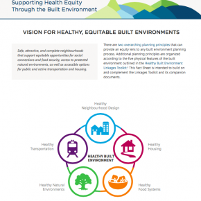 Working with the BC Centre for Disease Control to promote health equity in the built environment: New Report and Fact Sheet